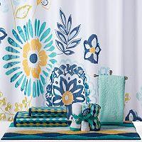 CHF Azalea Floral Shower Curtain Collection