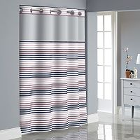 Hookless Stripe Shower Curtain Collection