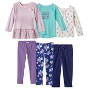 Toddler Girl Jumping Beans® Pink & Blue Mix & Match Outfits