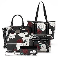 Dana Buchman Rose Handbag Collection