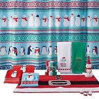 St. Nicholas Square® Holiday Cheer Friends Shower Curtain Collection