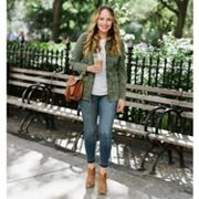 The Stripe by Grace Atwood Cool & Casual Look