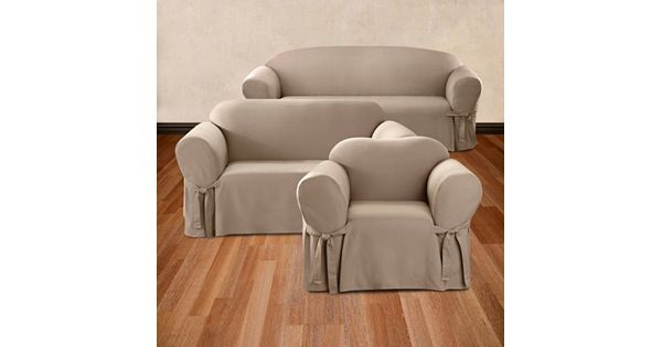 Jsp Furniture: Sure Fit Solid Duck Cloth Slipcover Collection