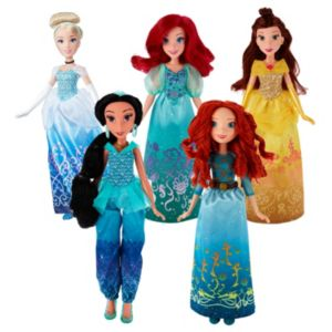 Disney Princess Royal Shimmer Doll Collection