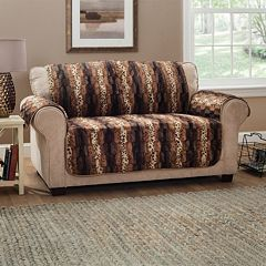 Plush Animal Print Slipcover Collection by