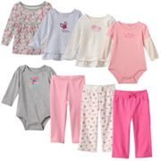 Baby Girl Jumping Beans® Fall Pink Mix & Match Outfits