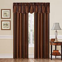 Traditions by Waverly Stripe Ensemble Window Treatment Collection