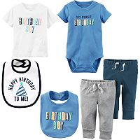 Baby Boy Carter's First Birthday Mix & Match Collection