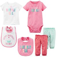 Baby Girl Carter's First Birthday Mix & Match Collection