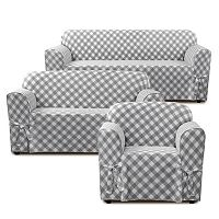 Sure Fit Buffalo Check Slipcover Collection
