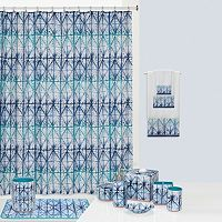 Creative Bath Shibori Shower Curtain Collection
