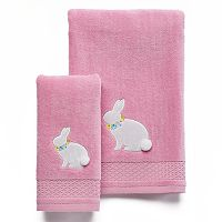 Celebrate Together Bunny Bath Towel Collection