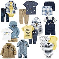 Baby Boy Carter's Road Trip Little Mix & Match Collection