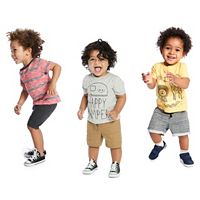 Baby Boy Jumping Beans® Spring Mix & Match Outfits