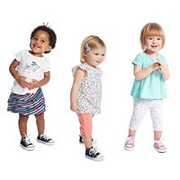 Baby Girl Jumping Beans® Spring Mix & Match Outfits