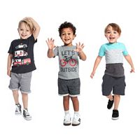 Toddler Boy Jumping Beans® Spring Mix & Match Outfits