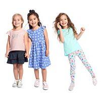 Girls 4-10 Jumping Beans®