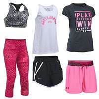 Girls 7-16 Under Armour Mix & Match Outfits