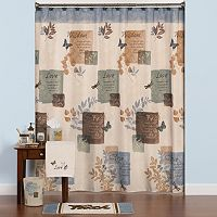 Saturday Knight, Ltd. Faith Shower Curtain Collection