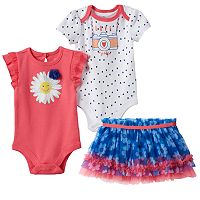 Baby Girl Baby Starters Pink & Blue Daisy Mix & Match Outfits