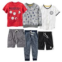 Boys 4-7 Carter's Baseball Mix & Match Outfits
