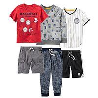 Toddler Boy Carter's Baseball Mix & Match Outfits