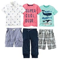 Boys 4-7 Carter's Nautical Mix & Match Outfits