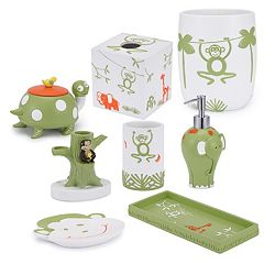 Kassatex Kids Jungle Bath Accessories Collection by