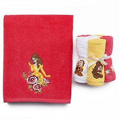 Disney's Beauty and the Beast Belle Bath Towel Collection by Jumping Beans
