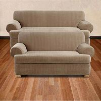 Sure Fit Pin-Striped Slipcovers