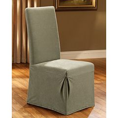 <strong>Sure Fit Pique Dining Chair Slipcovers</strong> by
