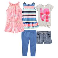 Girls 4-8 OshKosh B'gosh® Mix & Match Outfits
