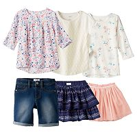 Girls 4-7 SONOMA Goods for Life™ Mix & Match Outfits