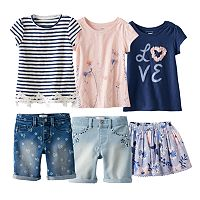Girls 4-7 SONOMA Goods for Life™ Warm Weather Mix & Match Outfits