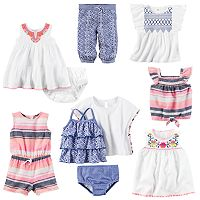 Baby Girl Carter's Dessert Flower Mix & Match Collection