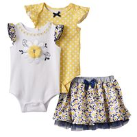 Baby Girl Nannette Daisy Mix & Match Collection