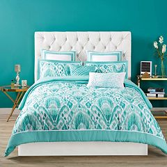 Christian Siriano Capri Comforter Collection by