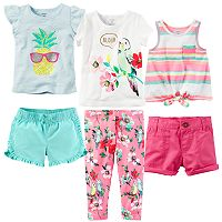 Baby Girl Carter's Aloha Tropics Mix & Match Collection