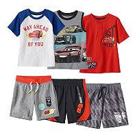 Disney / Pixar Cars 3 Toddler Boy Mix & Match Outfits by Jumping Beans®