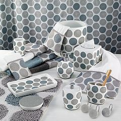 Avanti Dotted Bath Accessories Collection by