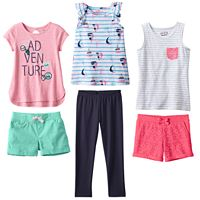 Girls 4-10 Jumping Beans® Adventure Mix & Match Outfits