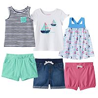 Baby Girl Jumping Beans® Sailboat Mix & Match Outfits