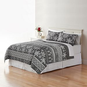 Home Classics® Sarah Fairisle Quilt Collection