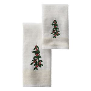 St. Nicholas Square® Holly Bath Towel Collection
