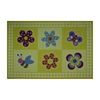 <strong>Fun Rugs&trade; Olive Kids&trade; Flowerland Rug</strong>