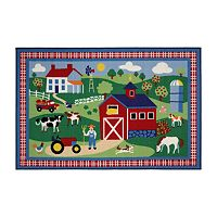<strong>Fun Rugs&trade; Olive Kids&trade; Country Farm Rug</strong>