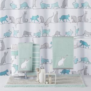 One Home Kitty Cat Bath Accessories Collection