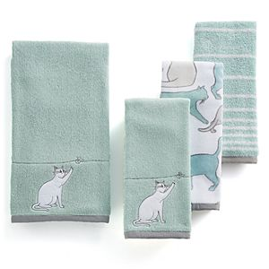 One Home Kitty Cat Bath Towel Collection