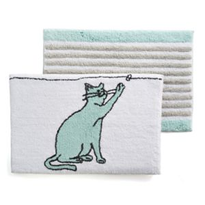 One Home Kitty Cat Bath Rug Collection