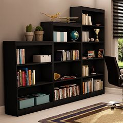 <p>South Shore Bookcases</p> by